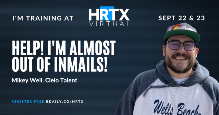 Help, I'm Almost Out of InMails! with Mikey Weil