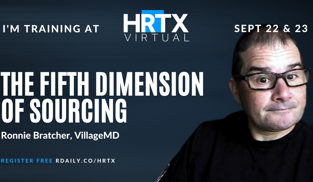 The Fifth Dimension of Sourcing with Ronnie Bratcher